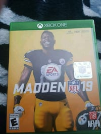 EA Sports Madden NFL 19 Xbox One game case Lewisville, 75067