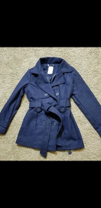 girls 7/8 peacoat new with tags