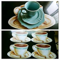 Set of 4 Soft Vinyl Placemats Whitby