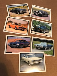 Muscle car, craftsman tool, misc baseball/trading cards