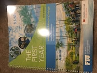 The First Year - 10th Ed. FIU - SLS.  Miami, 33179