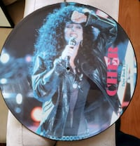 CHER Picture music disc