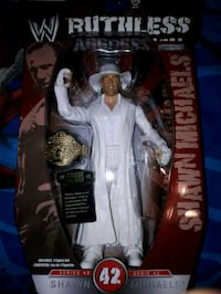 New WWE Shawn Michaels Figure in Package  Niagara Falls, L2G 7H8