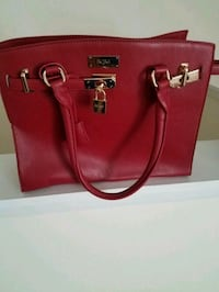Red BCBG handbag