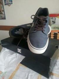 sneakers basse blu DC Shoes con scatola