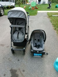 baby's black and gray travel system Borden, L0M 1C0