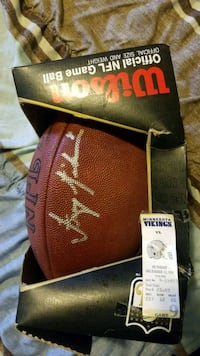 brown Wilson Minnesota Vikings football Toronto, M3A 1K4