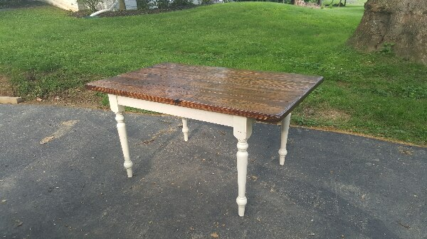 Handcrafted Farmhouse Table