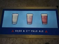 Bass and Co's pale ale mirror picture Huntington Beach, 92647