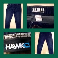 Boys size 14 skinny jeans and hawk brand jeans Red Deer, T4R 1S4