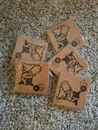 Square cork coaster (10pcs)