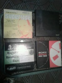 Reel to reel professional recording tapes