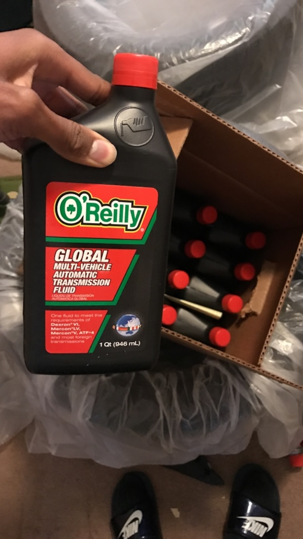 o'reilly global multi vehicle automatic transmission fluid 946 ml with box