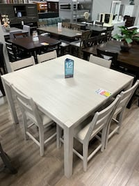 7-piece Counter height dining set!  2376 mi