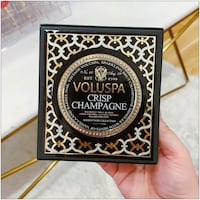 PRICE IS FIRM, PICKUP ONLY - Maison Noir Candle - Crisp Champagne - 340g- Toronto, M4B 2T2