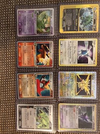 Pokemon rare holos and EX Toronto, M2J 1G6