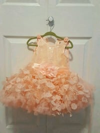 Party dress for 12 to 24 months old baby girl