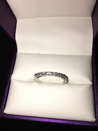 Silver-colored ring with box Bakersfield, 93306