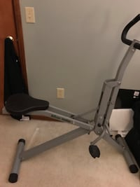 black and gray elliptical trainer Columbus, 43054