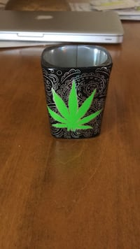 Weed designed shot glass