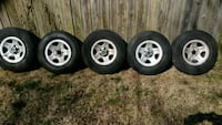 Jeep Wrangler rims w\ tires Towson