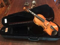 3/4 Size Violin, Bow and Case - perfect for beginners Chantilly, 20152