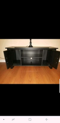 black wooden  TV stand Paterson, 07522