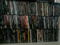 160 dvd's 20 bluerays  moving must  sell   $150.00