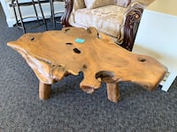 New Solid Wood Abstract Wood Work Artistic Coffee Table Virginia Beach, 23462