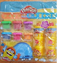 PRICE FIRM: New Play-Doh Bath Soap Molder Set 2 Stencils 6 Soap 537 km