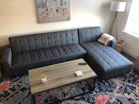 Gray Sectional Norfolk, 23510