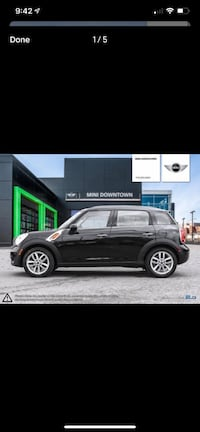 2012 Mini Cooper Countryman Toronto