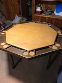 Poker Table. Made in the USA