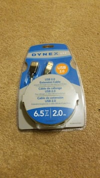 6.5 ft usb extension cable. Calgary, T1Y 5K9