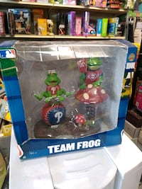 Phillies team frog collectible