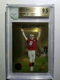 1995 Zenith Second Season 24 Steve Young (BGS 9.5) Upper Marlboro, 20774