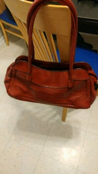 Next to brand new leather zebra printed red bag Kitchener, N2M 2E9