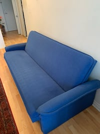 RARE BLUE SOFA BED MUST GO, PICK UP ONLY! Toronto, M3J 3M1