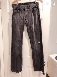 men's jeans grey denim size 32 pants