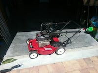 red and black push mower DeLand, 32724