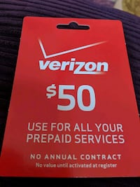 Verizon Prepaid Card  Gainesville, 32653