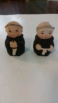 Monk Salt and Pepper shakers  Hagerstown