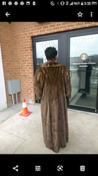 Almost new Fur coat worn only once. It's value sell price.was $10000  Alexandria, 22306