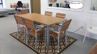 Aluminum and Poly Wood Dining Set for 6 Toronto, ON, Canada