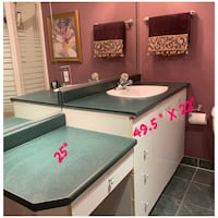 Vanity with sink & faucet(Revised price)