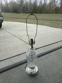 clear glass table lamp base Waldorf, 20603