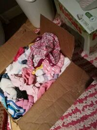 Babygirl clothes size nb to 3-6 mo