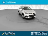 2017 Chevy Chevrolet Trax hatchback LS Sport Utility 4D Silver Brentwood