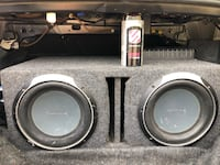 """2 10"""" subs with Pioneer Premier PRS D1100M amp Fayetteville, 28310"""