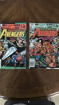 The Avengers-issues 215, 216 Indio, 92201